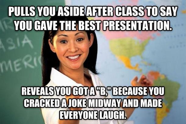 Training, Presentation, I Crack Jokes as a Defence Mechanism
