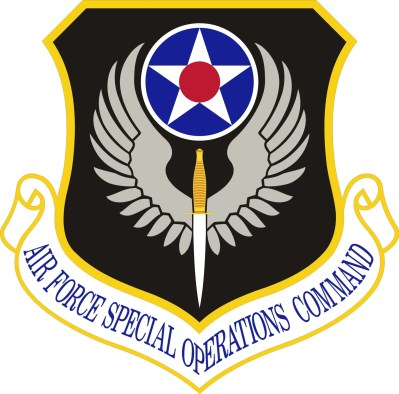 Logo, AFSOC, Air Force Special Operations Command, US, Special Forces, USAF