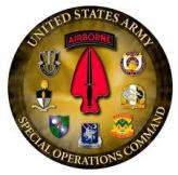 Logo, USASOC, US Army Special Operations Command, US, Special Forces (1)