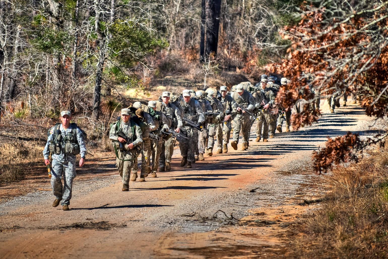 15 FEB 2011 - US Army Ranger Training Florida Phase; Camp Rudder, FL. Photo by John D. Helms - john.d.helms@us.army.mil