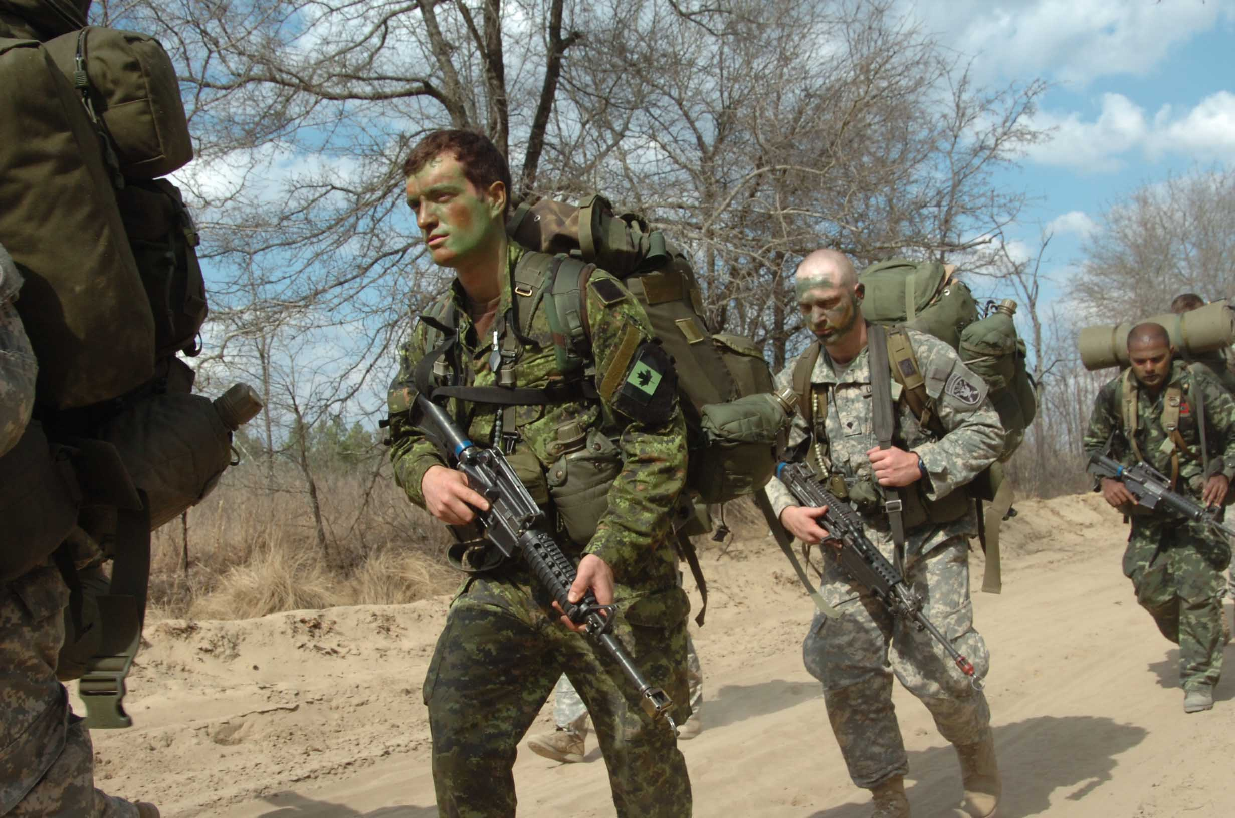 Canadian Special Operations Regiment (CSOR) Selection