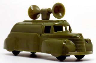 Thomas Toys U.S. Army Loudspeaker Truck 4, Communication, Military, Radio (1)