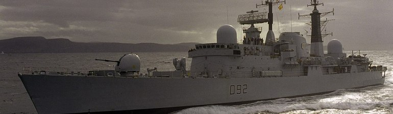 HMS Liverpool, D92, Royal Navy, Warship (1)