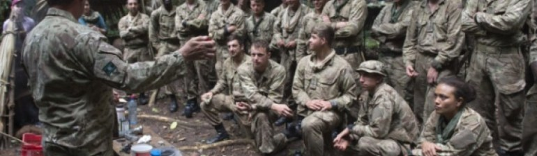 Commando Training, Jungle Warfare, Belize (1)