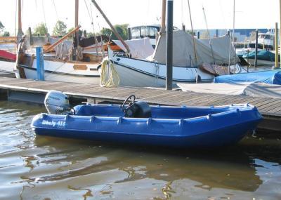 Whaly 435 im Hafen