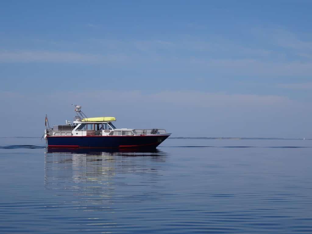 Unser altes Boot - die MY XENIA, eine Palma 40.