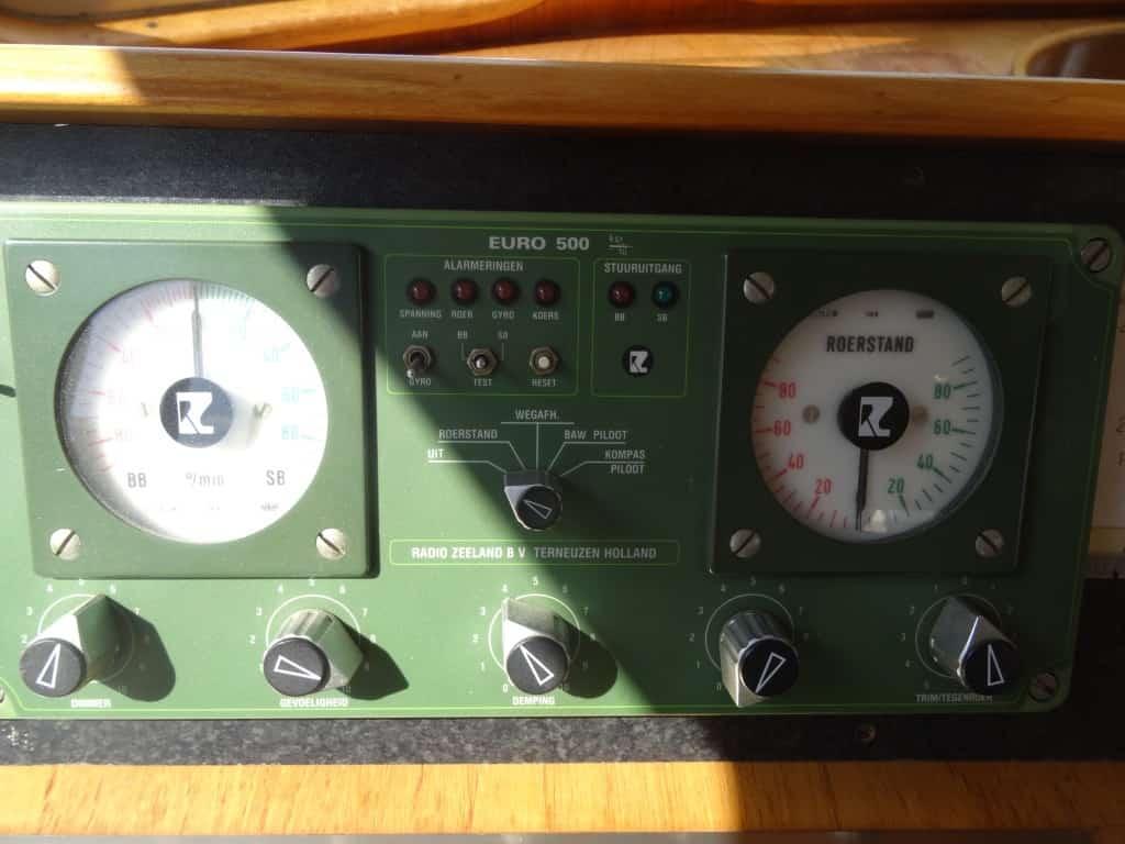 Die Radio Zeeland EURO 500 Ruderanlage - Archivbild