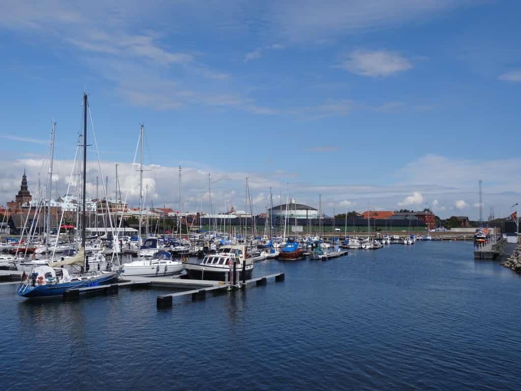 Die Marina von Ystad