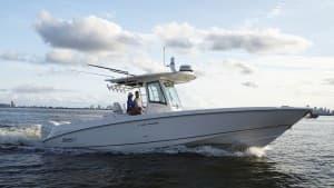 Raymarine Quantum auf einem kleinen Boot