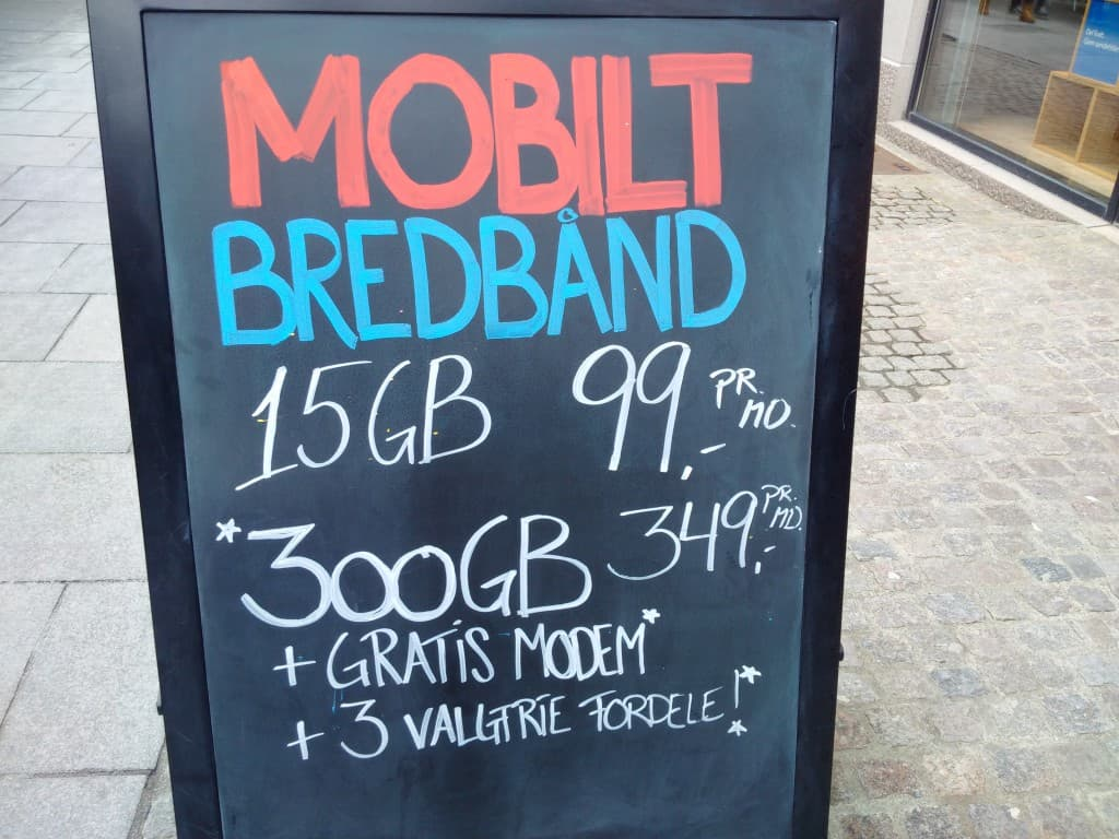 Mobiles Internet: 300GB für umgerechnet 46 Euro