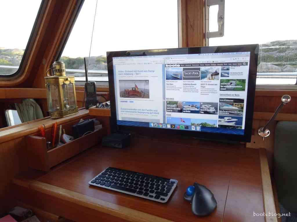 Internet auf dem Boot - Fragen und Antworten