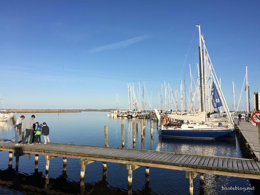 Im Yachthafen