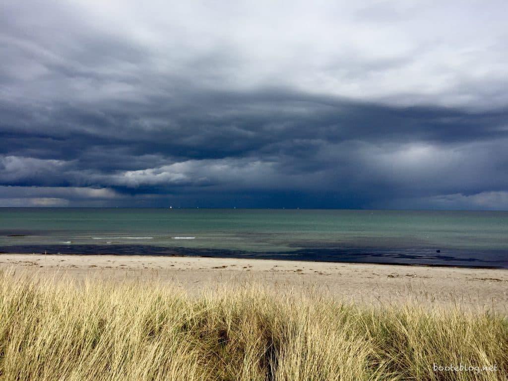 Schuby Strand bei Damp an Pfingsten 2016