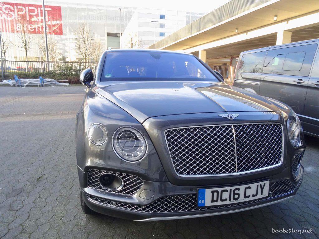 PRINCESS - ein Bentley als V.I.P. Shuttle