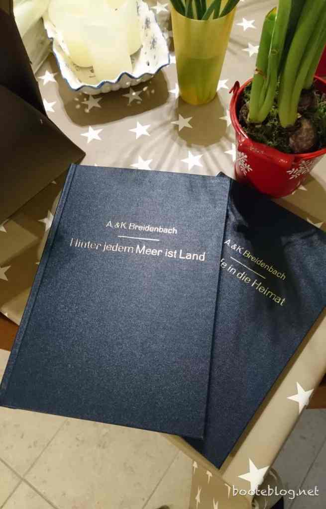 Annemarie und Karl-Heinz Breidenbach - ihre Bootskarriere als schön gebundenes Buch.