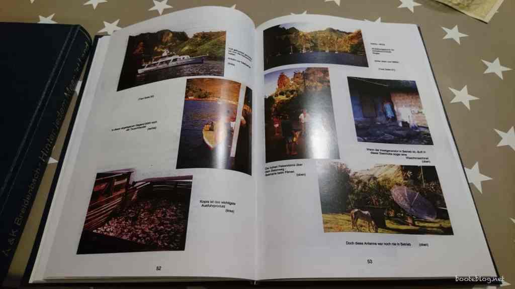 Die Qualität der Fotos ist erstaunlich gut für Seiten, die eingescannt und dann wieder gedruckt wurden.
