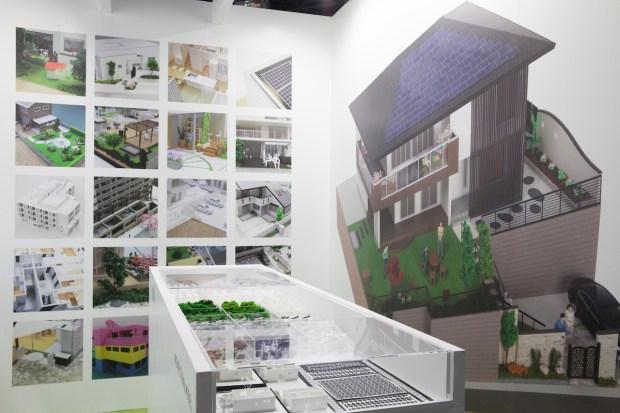 ジャパンホームショー2014の展示会ブースデザイン装飾
