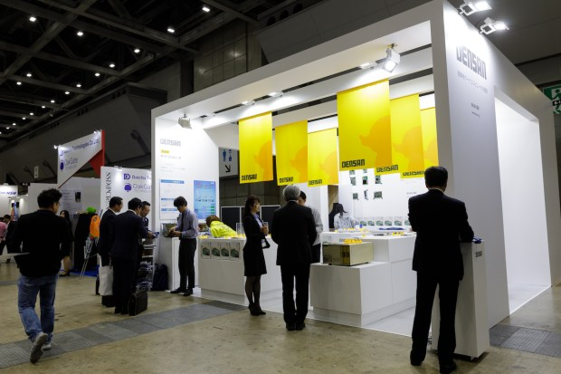第28回 Japan IT Week春の展示会ブースデザイン装飾