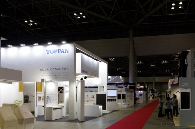 JAPANSHOP2019の展示会ブースデザイン装飾