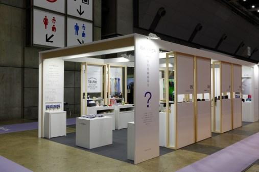 ギフトショーLIFE&DESIGN 展示会ブースデザイン・石川県繊維協会集合ブース