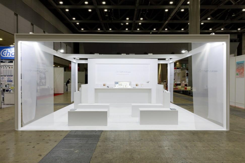 国際化粧品展・展示会ブースデザイン装飾