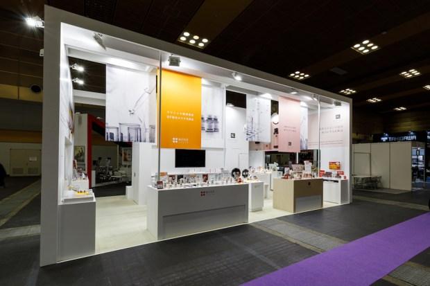 ビューティーワールドジャパン2020の展示会ブースデザイン装飾