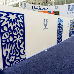 backdrop trade show booth