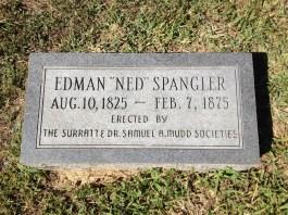 Spangler's grave