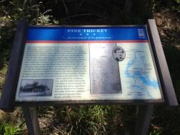 Pine Thicket Civil War Trails Marker 2