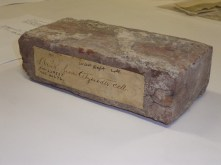 Brick from Atzerodt's Cell