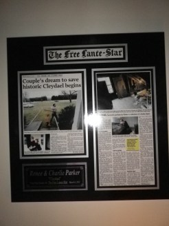 Framed Cleydael Article