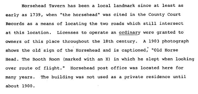 Horsehead history
