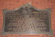 Seward Plaque
