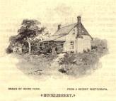 Huckleberry Drawing 1895 Mason