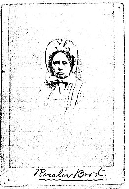 Rosalie Ann Booth photocopy of original image