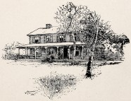 Surratt House 1895 engraving