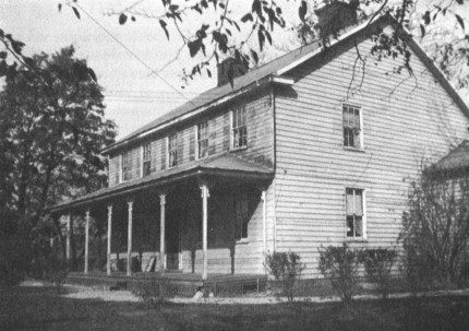 Surratt house 1936 Kimmel