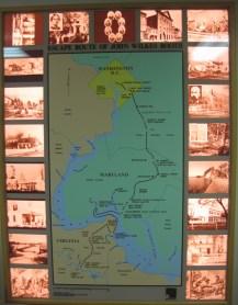 Surratt house talking map