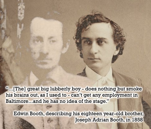 Edwin's view of Joe 1858