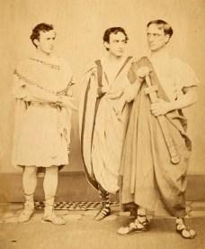 John Wilkes, Edwin, and Junius Brutus Booth Jr