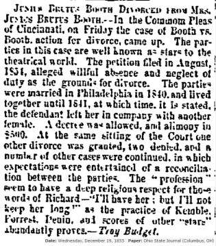June and Clementina Divorce