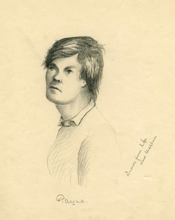 Lewis Powell sketch by Lew Wallace