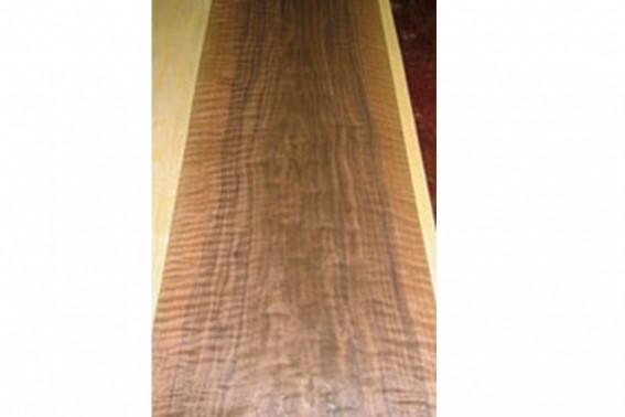 flat cut wood
