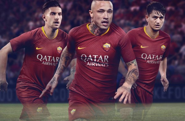 AS Roma Home Jersey 18/19