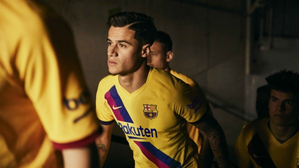 Barcelona Away Kit 2019/20 Coutinho
