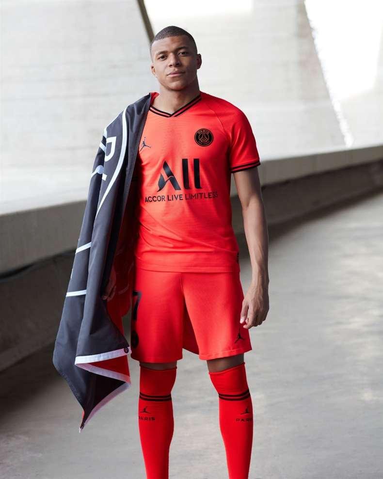 PSG Jordan brand 2019/20 - mbappe
