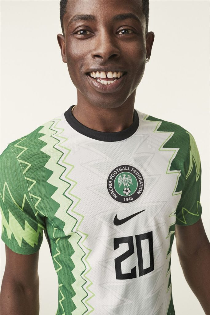 Nike Nigeria home kit 2020