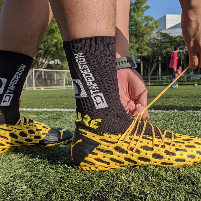 tapedesign grip socks review