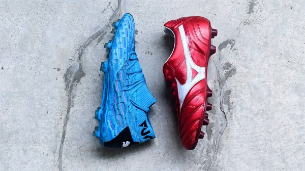 best football boots for flat feet - puma future mizuno morelia soccer cleats