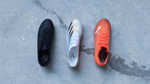 Speed Boot Battle - Mercurial Vapor v adidas X Ghosted v Puma Ultra - football boots soccer cleats (3)